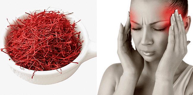 azafrán-efectos adversos