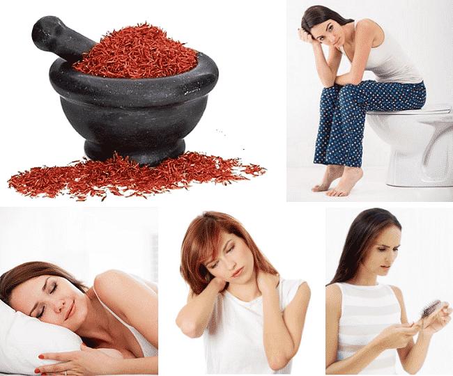 azafrán-usos medicinales